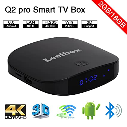 706162e341b2 leelbox Q2 PRO Android 6.0 TV Box Smart TV Box 2 GB RAM  Amazon.co.uk   Electronics