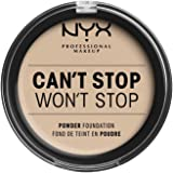 NYX Professional Makeup Can't Stop Won't Stop Full Coverage Powder Foundation - Alabaster