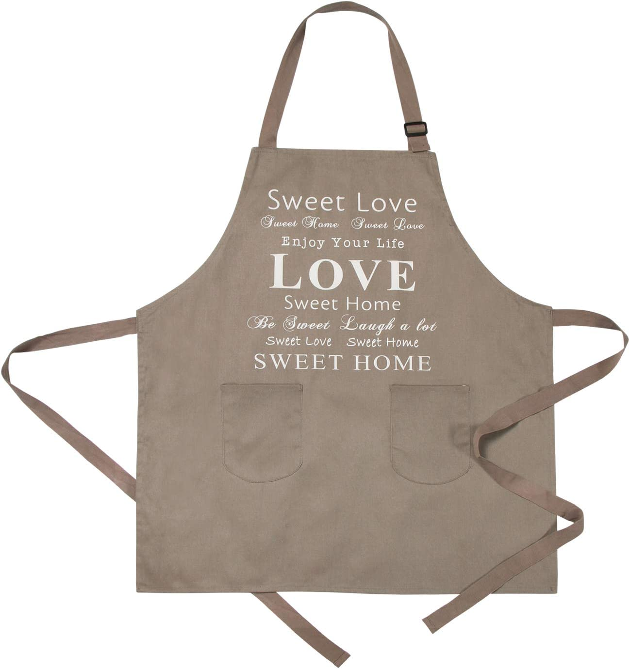 Full Aprons Chefs Check Apron Kitchen Bib Front Pocket 100/% Cotton Check Aprons