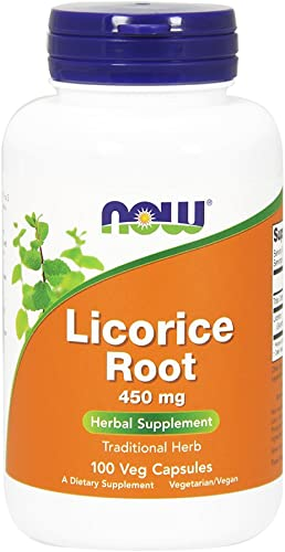 Licorice Root 450mg 100 Capsules Pack of 2