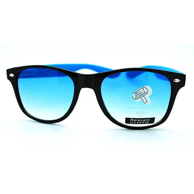 Amazon.com: Classic Wayfarer anteojos de sol Old School ...