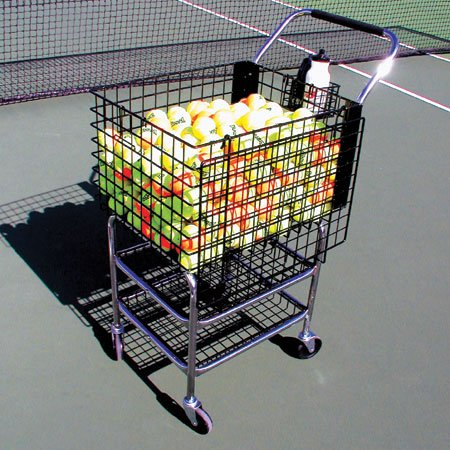 Oncourt Offcourt Deluxe Club Cart – Tennis Ball Storage/Easy Transportation