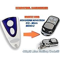 Novo Ferm Novotron 512, mix43–2compatible handsender, 4de canal