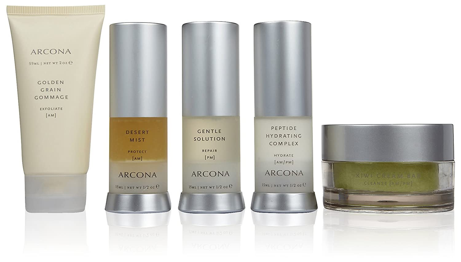 ARCONA Travel Kit Basic Five - Dry Skin
