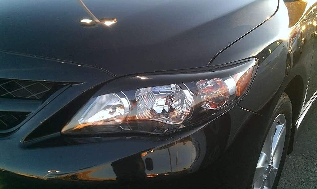 Gloss Black 2011-2013 Corolla Headlight Accent Decals Precut XPLORE OFFROAD