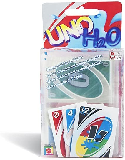 UNO Waterproof UNO H2O Card Game US SELLER