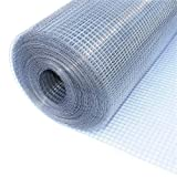 ALEKO WM36X50M1/2G19 Mesh Wire Roll Cloth 19 Gauge Steel 36 x 50 1/2'' Mesh