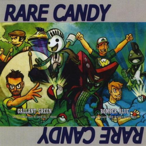 Bomber Blue Gallant Green By Rare Candy On Amazon Music