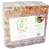 VermisTerra - Coco Coir and Chips, Compressed Brick - Approx 9 LB (1.7 cu ft) - for Container Garden and Potting Mix