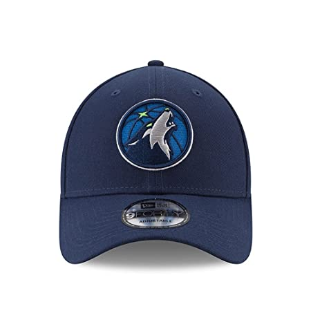 Amazon.com : New Era Minnesota Timberwolves Official Team Color The League 9FORTY Adjustable Hat Navy : Sports & Outdoors
