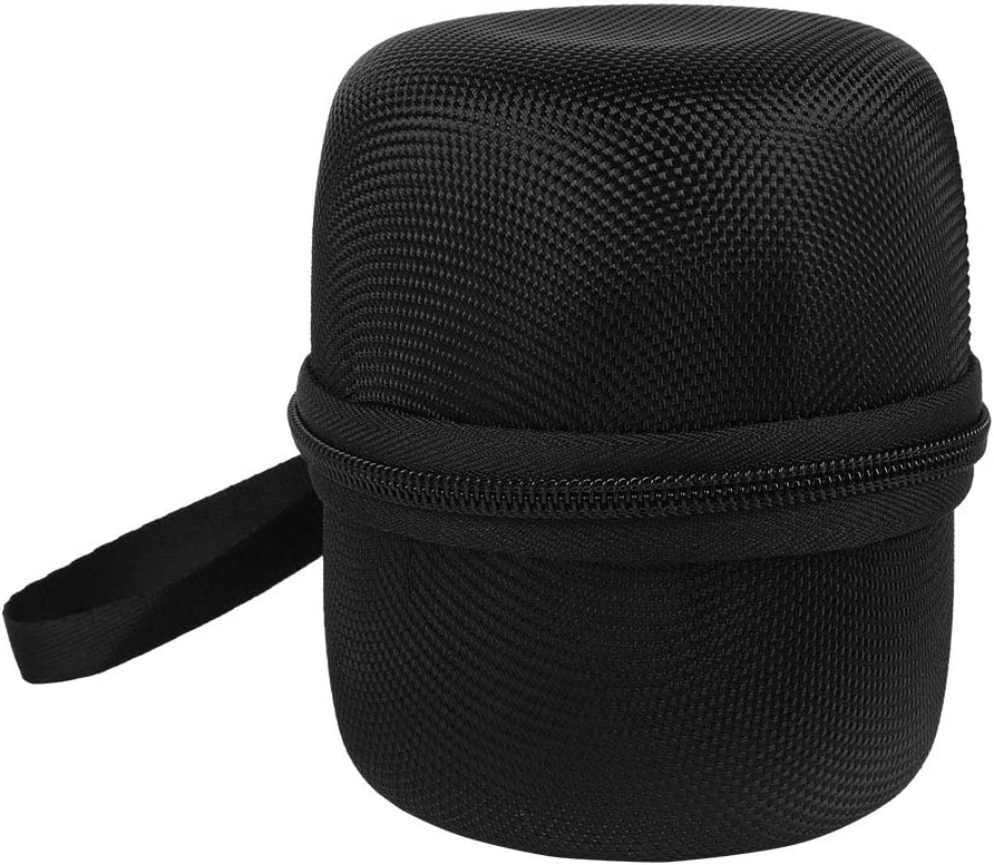 Zer one Portable Bluetooth Speaker Bag for Sony SRS XB10 Speaker Black Nylon Protective Cover Box for Outdoor Activities