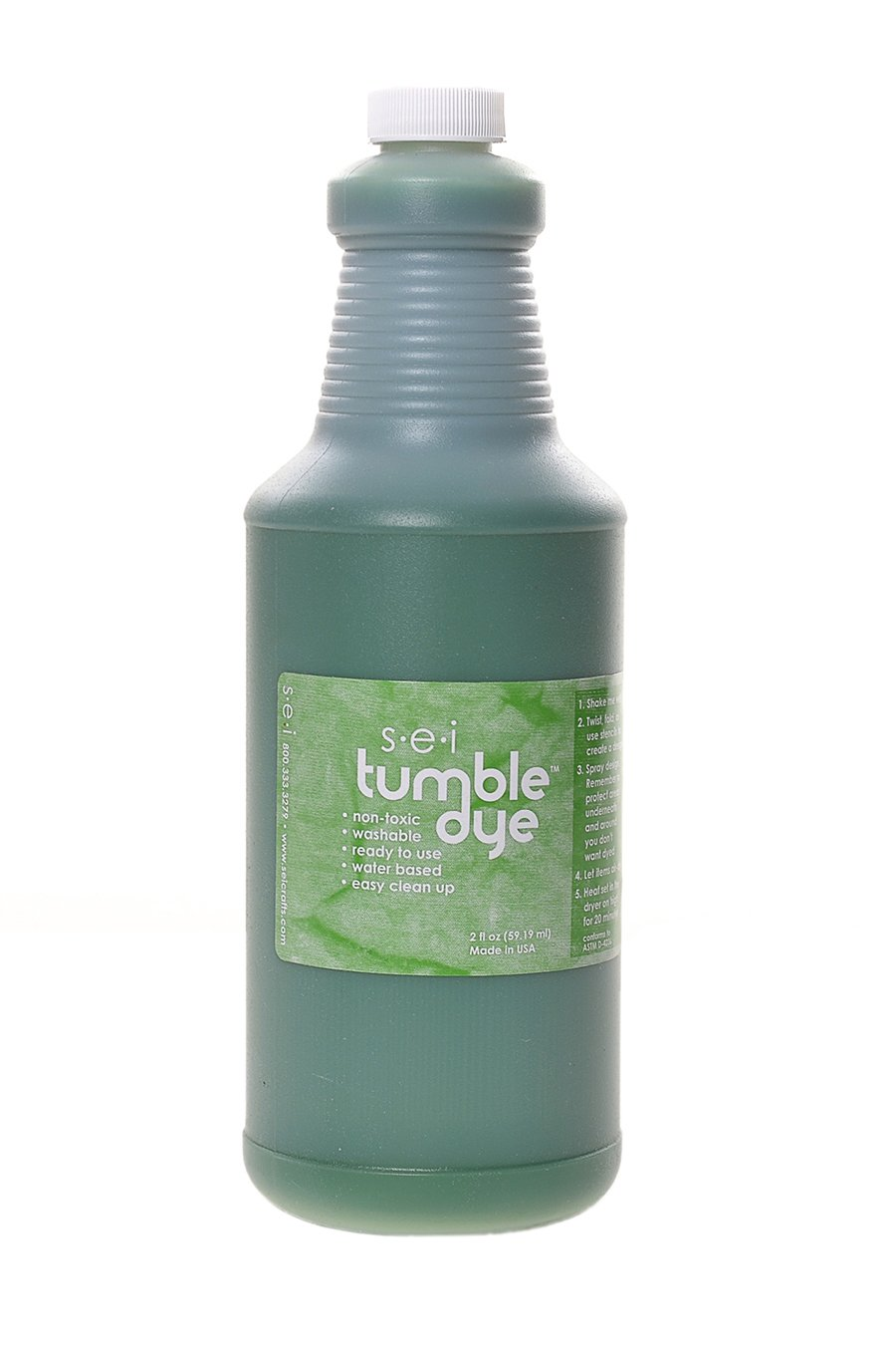 染料クラフト & ファブリック塗料 1 qt 草緑をタンブルします。   B00GHQW9BY