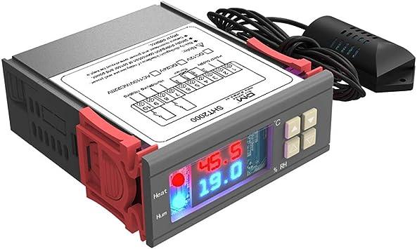 STC-3000 Thermostat Temperature Humidity Control Thermometer Sensor DC 12V