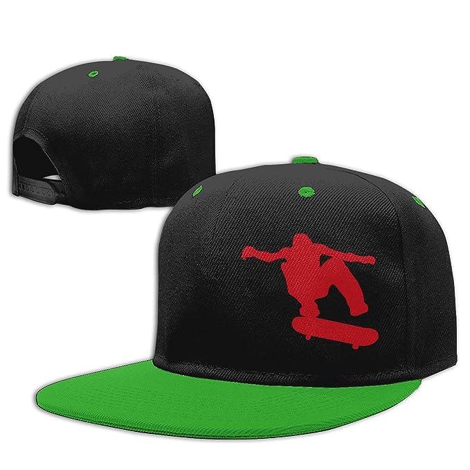 Adgjhbvn Unisex Kids Baseball Cap Skateboard Skater Adjustable Hip ...