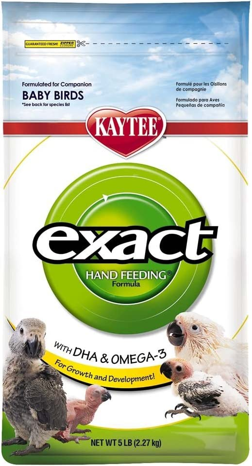 Kaytee Exact Natural Bird Food For Parrots And Conures, 25 Lb
