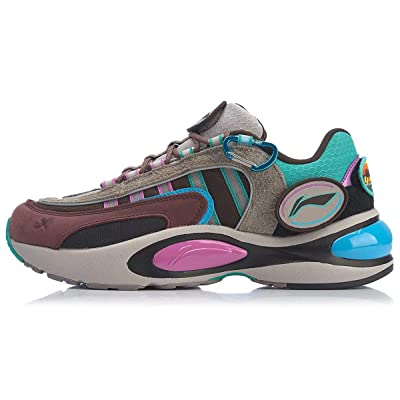 LI-NING 2020 NYFW V8 Men Women Running Shoes PROBAR LOC Support Lining Cloud LITE Fashion Sport Shoes Sneakers Multicoloured ARHP189 ARHP228 | Running