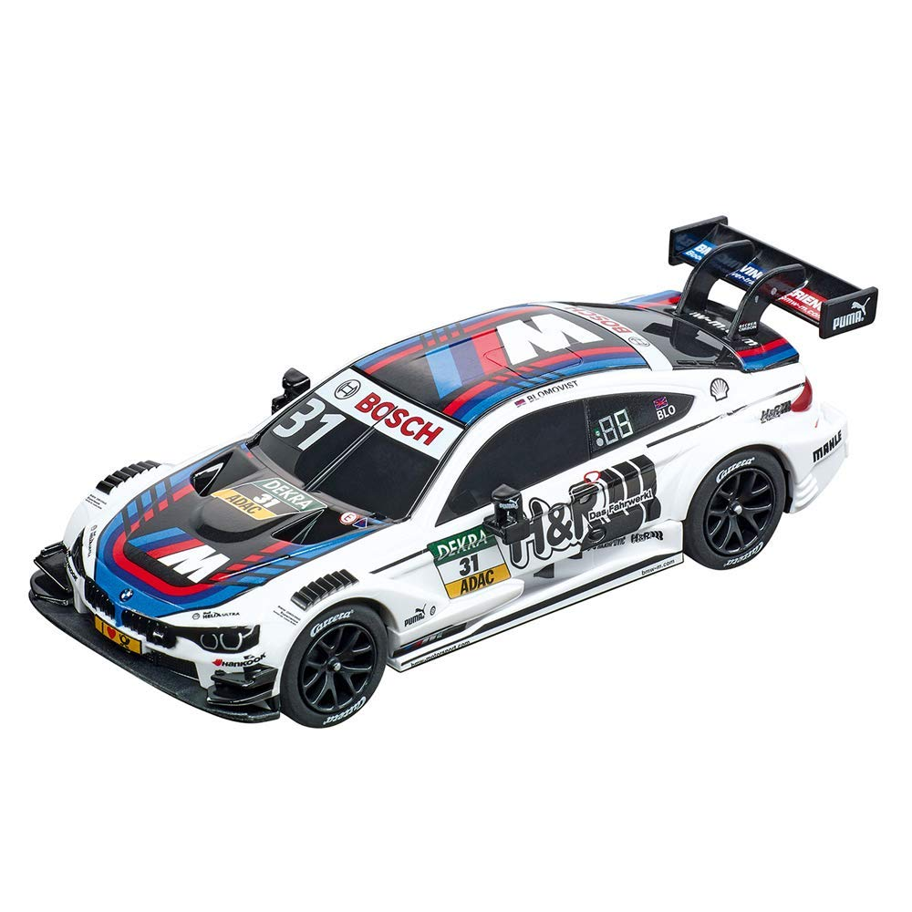 "Carrera 20064108 BMW M4 DTM T. Blomqvist, Number 31"" Vehicle, Multicoloured"