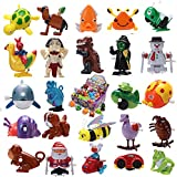 Joyin Toy 24 Pieces Assorted Wind-up Toys for Kids Party Favors (2 Dozen)