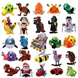 Joyin Toy 24 Pieces Assorted Wind-up Toys for Kids Party Favors Stocking Stuffers