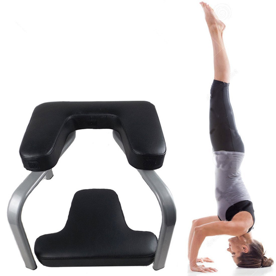 Ranbo yoga headstand exercise bench/body lift inverted training/fitness chair and Inversion workout the balanced body headstand bench … by Ranbo (Image #1)