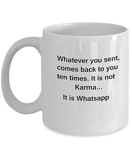 Amazon com: Whatsapp Text Messages - Funny Coffee mugs tea