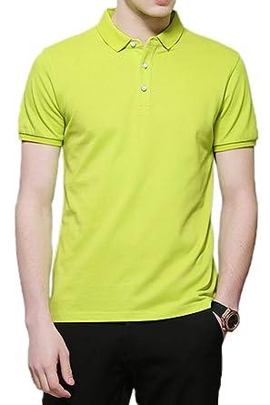Camisas De Polo De Hombre, Hombre, Top Esencial Camiseta Fit ...
