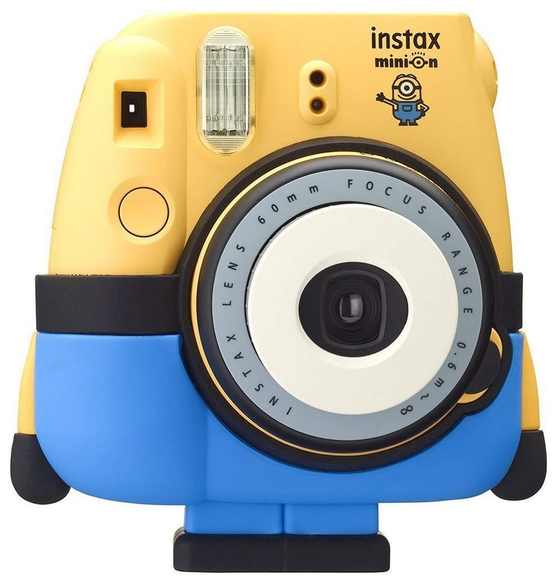 d6d7a37b6c4fcd Fujifilm Instax Mini 8 Minion Appareil photo instantané Jaune Bleu   Amazon.fr  Photo   Caméscopes