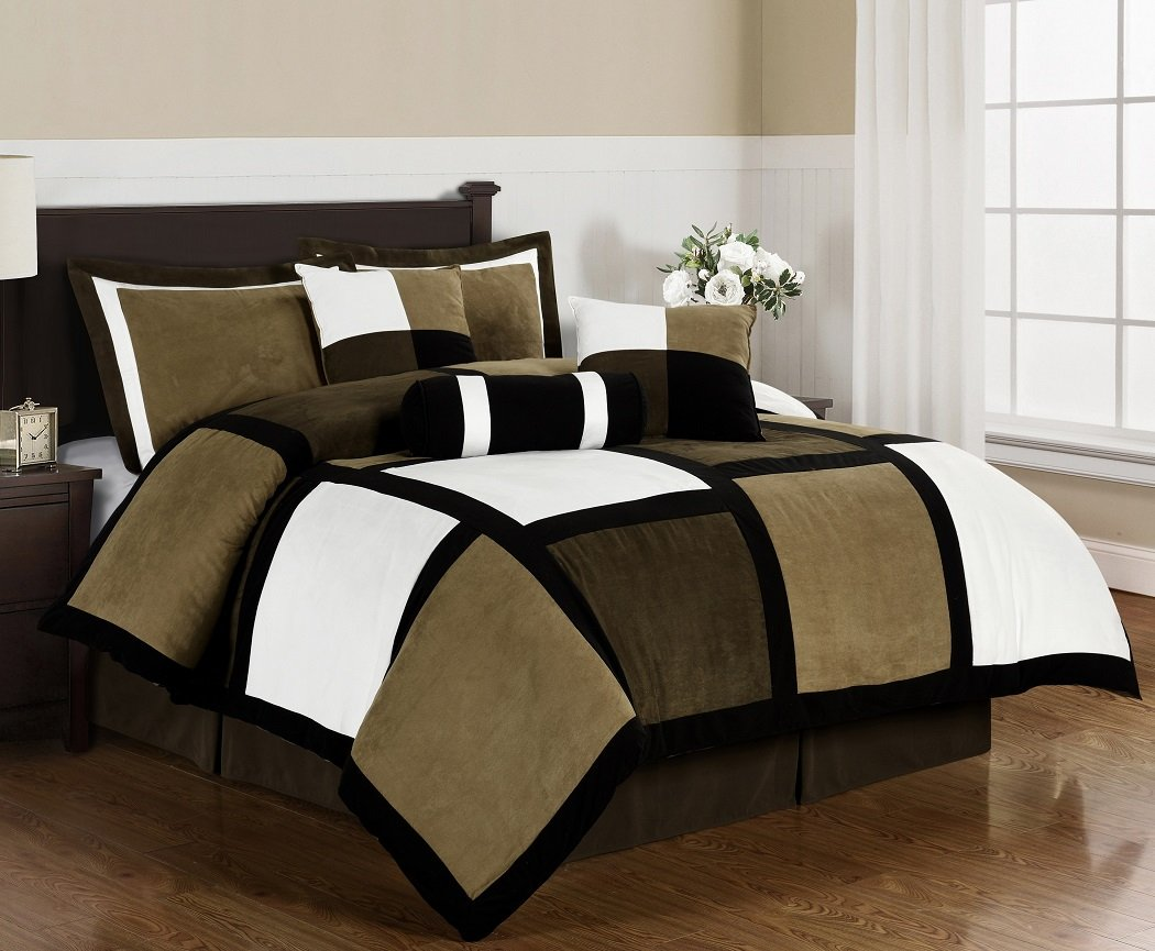 for king and sets extraordinary quilt ki luxury piece comforter in bedroom rustic jaqcuard brown size decoration bed black kohls stunning bedding ideas blue farmhouse