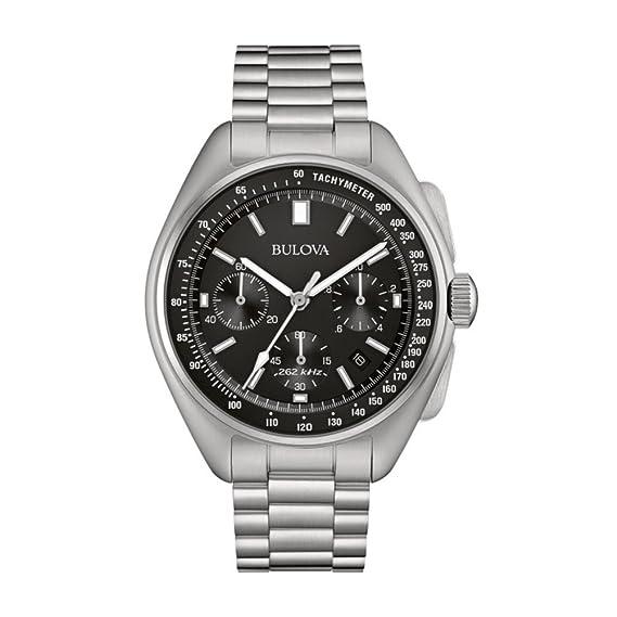 Bulova Piloto Lunar 96B258 - Reloj de Pulsera de diseño para Hombre - Función de cronógrafo