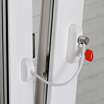 BSL Cable Prime - Window/Door Restrictor - Baby Safety \u0026 Intrusion Defence & Amazon.com: BSL Cable Prime - Window/Door Restrictor - Baby Safety ...