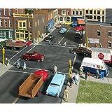 Walthers Cornerstone Series Kit HO Scale Full Set Asphalt Street System