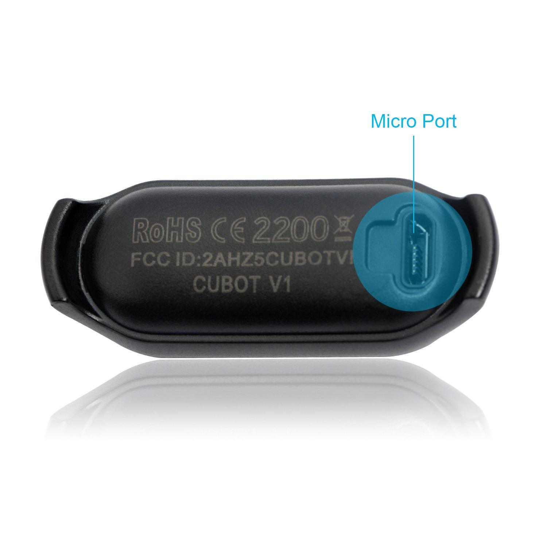 CUBOT V1 SmartBand Actividad Tracker Dormir Tracker - Rastreador ...