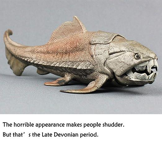 Oncpcare Dunkleosteus Decoración para Acuario, Figura de Peces de la ...