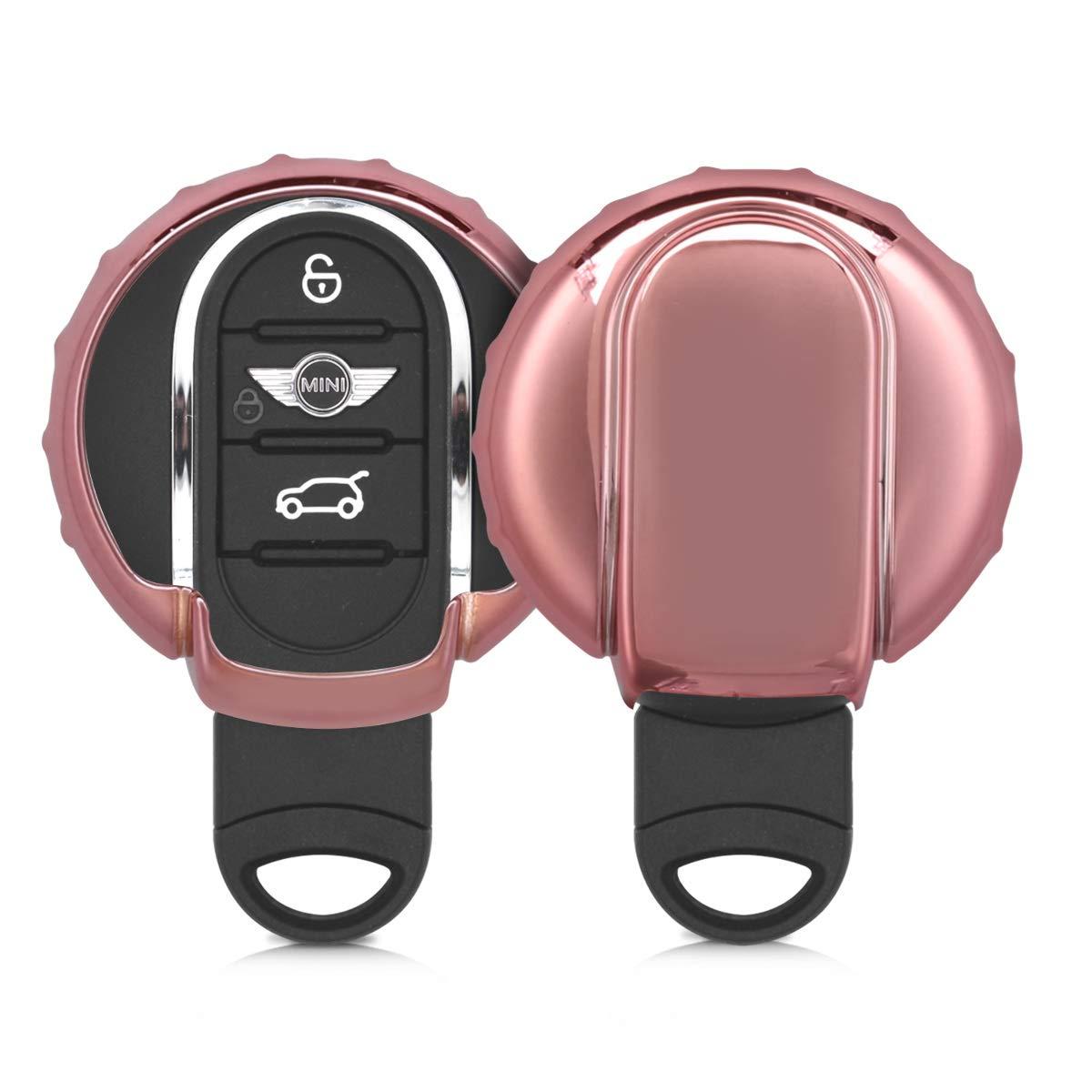 Kwmobile Mini Car Key Cover Soft Tpu Silicone Protective Key Fob