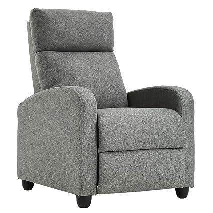 Brilliant Single Modern Sofa Home Theater Seating For Living Room Gray Creativecarmelina Interior Chair Design Creativecarmelinacom