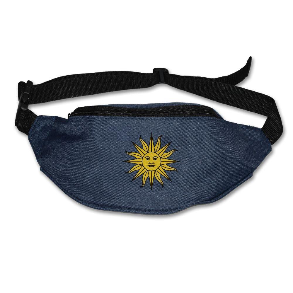 50%OFF Yahui Sun Of Uruguay Flag Waist Bag Fanny Pack / Hip Pack Bum Bag For Man Women Sports Travel Running Hiking / Money IPhone 6 / 7 6S / 7S Plus Samsung S5/S6