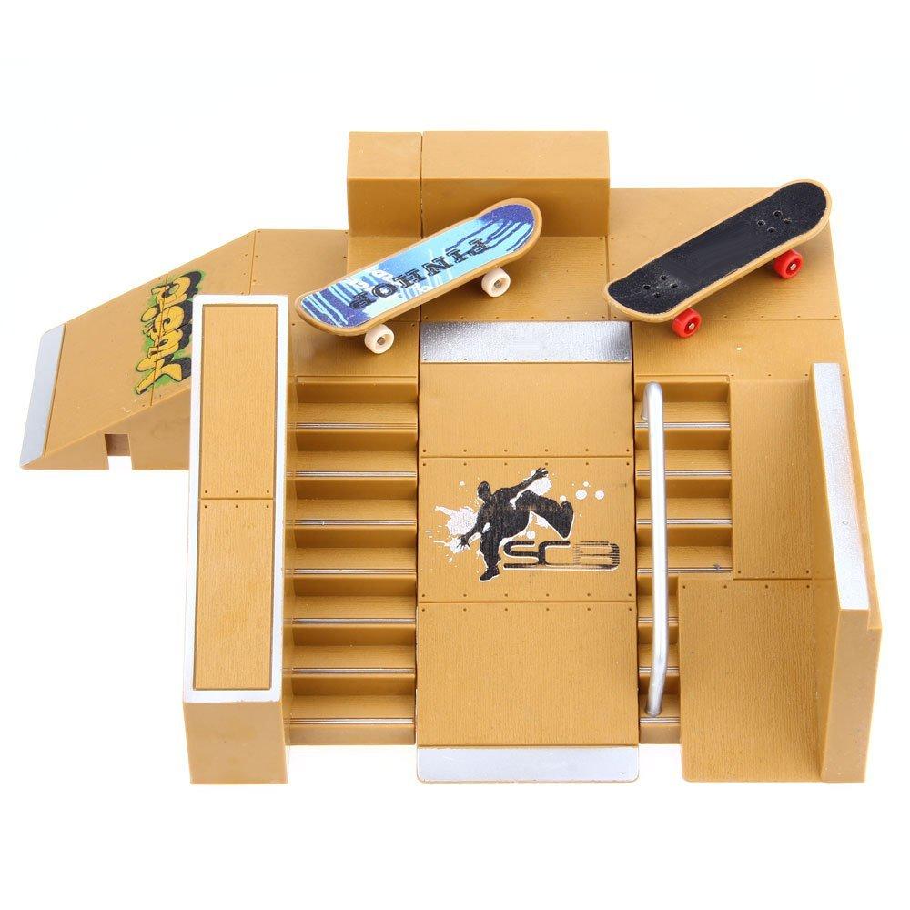Robolife Skate Park Kit Ramp Parts for Fingerboard Ultimate Sport Training Props-5pcs by Robolife (Image #1)