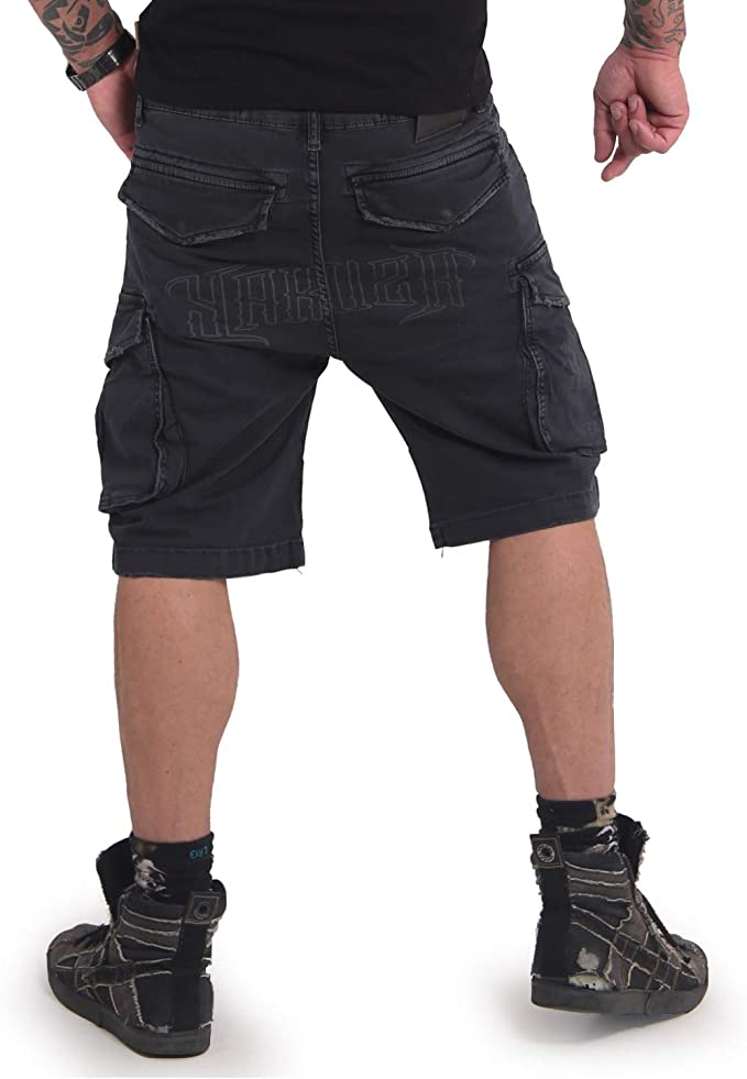 Yakusa HOMMES CARGO SHORTS OLD Firm