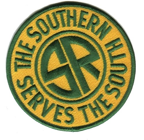 Railroad 100% Embroidered Patch Collectible - Southern Railway 4