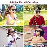 82b643af0044 Kids Sunglasses For Kids Polarized Sunglasses Girls Child Boys Age 3-10  (Rubberized pink  cyan