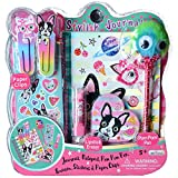 7 year old girl drawing - Journals for Girls - Diary Set For Kids 5 Years and Over - Best Pals Notebook With Blank Lined Pages, Stickers and Much More For Hours Of Fun by Hot Focus