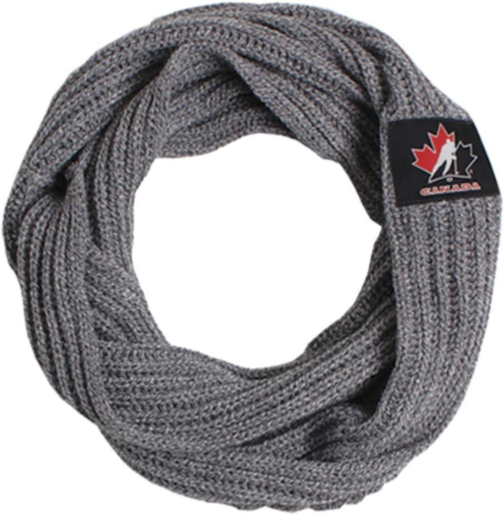 Team Canada Ladies Knit Infiniti Hockey Scarf