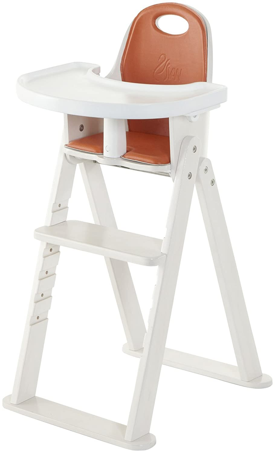 Amazon.com : High Chair  Svan Baby To Booster Bentwood Folding Chair With  Removable Cushion (6 Months   5 Years) (Espresso) : Childrens Highchairs :  Baby