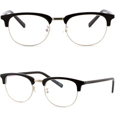 a5824c6662b Image Unavailable. Image not available for. Color  Full Rim Womens Mens Browline  Frame Prescription Glasses Sunglasses Black ...