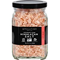 Evolution Salt Company - 喜马拉雅食家粗糙的桃红色盐 - 17盎司