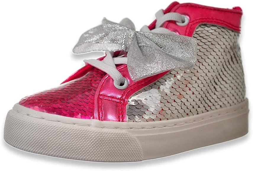 Jojo Siwa Girls' Hi-Top Sneakers