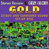 : Stereo Review & Chesky Records: Gold Stereo And Surround Sound Set-Up Disc