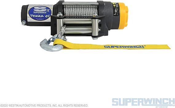Superwinch 1145220 Terra 45 Atv Utility Winch 4500lbs 2046kg