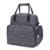 Dazone® Baby Diaper Bag Diapers Backpack Changing Bag Mummy Tote Waterproof Handbag Shoulder bags small Dots (Black)