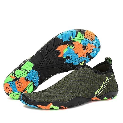 Bestow Hombres y Mujeres Parejas Deportes Buceo Surf Playa Caminar Yoga Piel Secado rápido Zapatos Zapatos de Mujer: Amazon.es: Ropa y accesorios